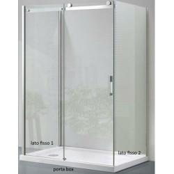 Box Doccia da Centro Stanza ad U Cristallo 8 MM (COD.P27)