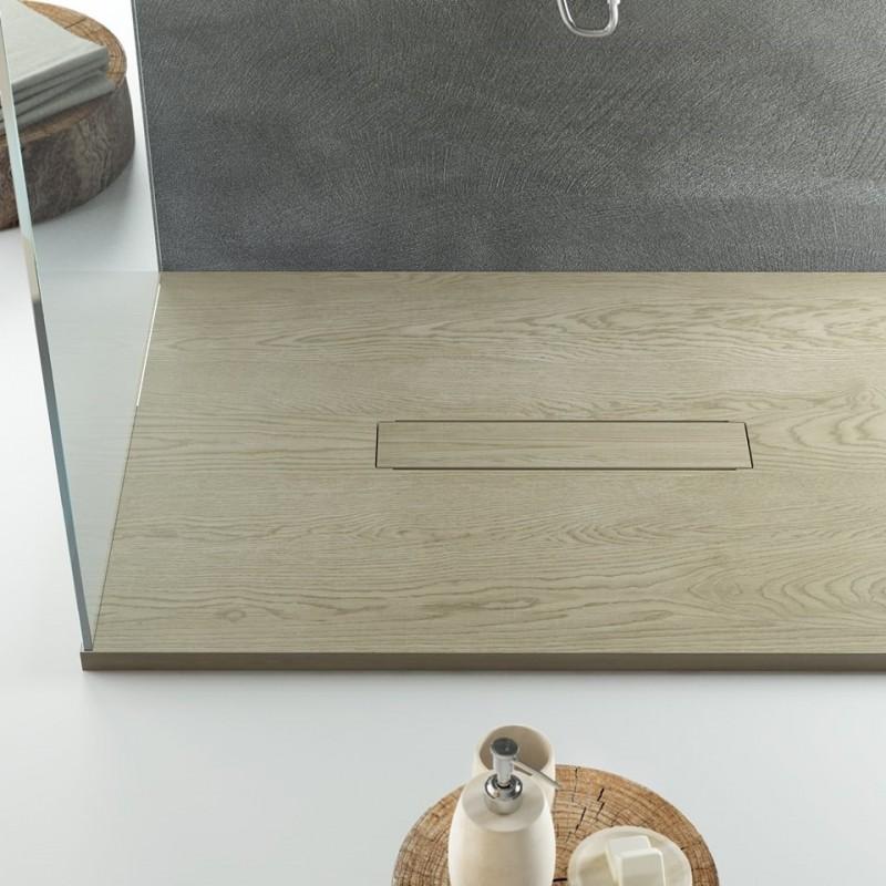 Relax design piatto doccia marmo resina legno piletta for Piatto doccia prezzi