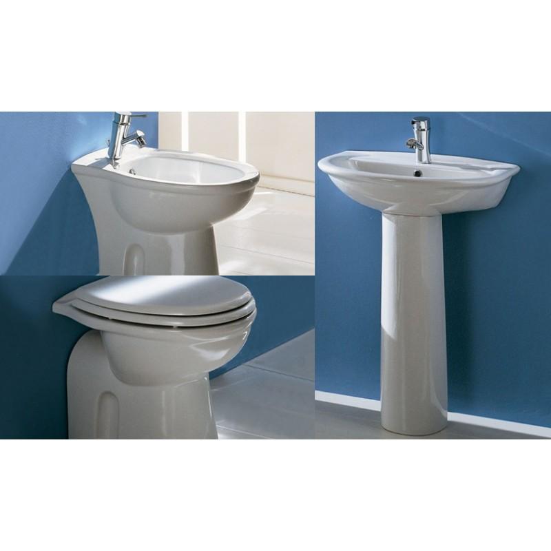 Rak ceramics set completa 4 pezzi sanitari karla - Sanitari bagno tradizionali ...
