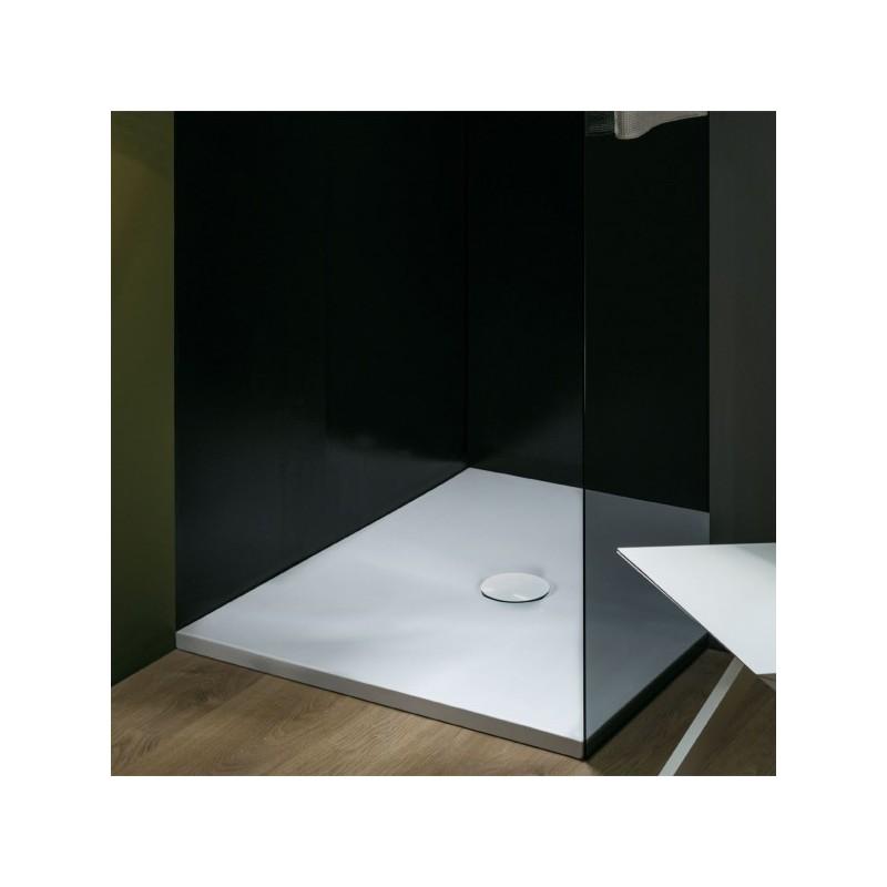 Piatto Doccia 100 X 90 Ceramica.Azzurra Piatto Doccia Uniko Ceramica 100 X65 70 80 90 100 Altezza 3 Cm