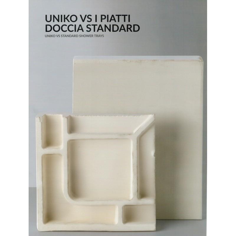 Azzurra Piatto Doccia Uniko Ceramica 100 X65 70 80 90 100 Altezza 3 Cm