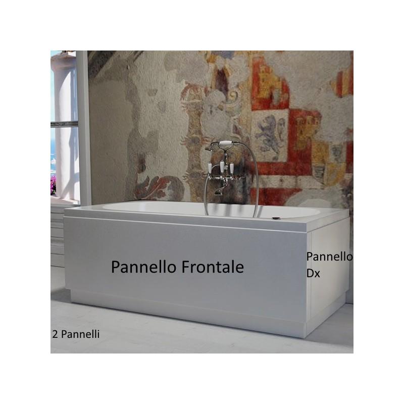Vasca Da Bagno Piccola 140.Vasca Con Pannello 70 X 105 120 140 150 160 170 180 Cm In Vetroresina