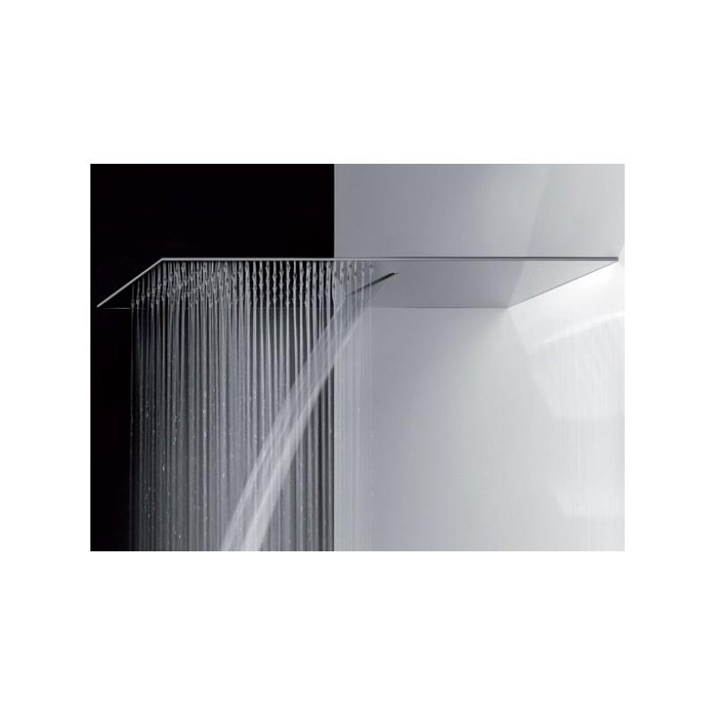 Mariani soffione doccia ultrapiatto in acciaio lucido 2 for Doccia a muro