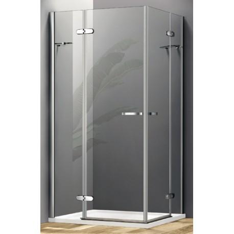 Box doccia con due porte a battente cristallo 8 mm cod - Box doccia globo ...
