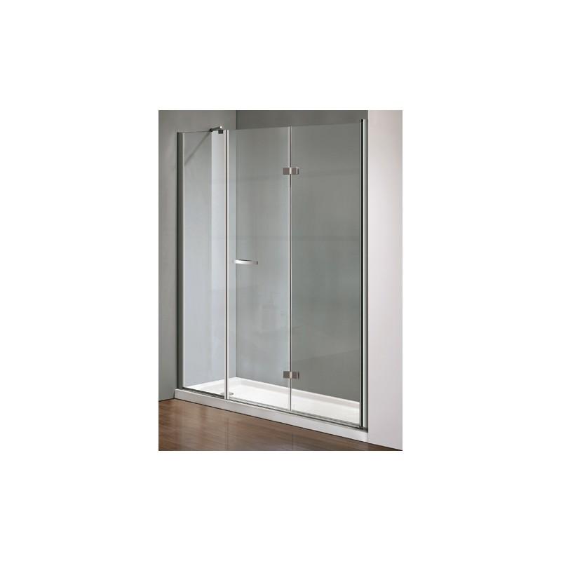 Box Doccia Cristallo Anta Fissa : Box doccia con porta girevole anta fissa cristallo mm