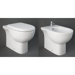 Vaso + Bidet Tonique Rak Ceramics