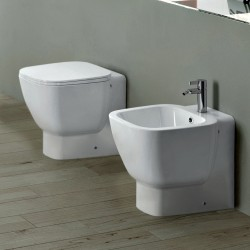 Vaso + Bidet + Sedile Soft Close One Marca Rak