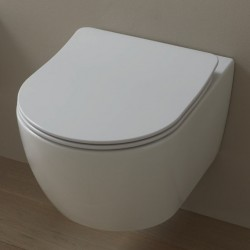 Vaso Sospeso Like Gsg con Tecnologia Smart Clean Senza Brida