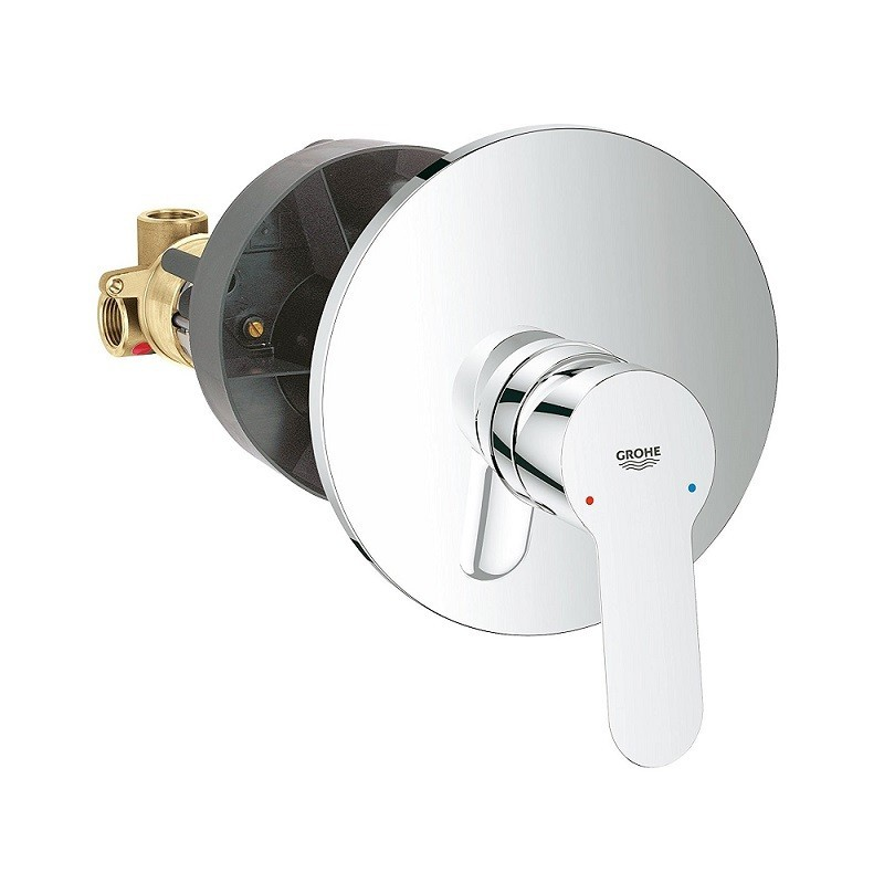 Grohe miscelatori bauedge lavabo bidet doccia incasso - Miscelatori grohe bagno ...
