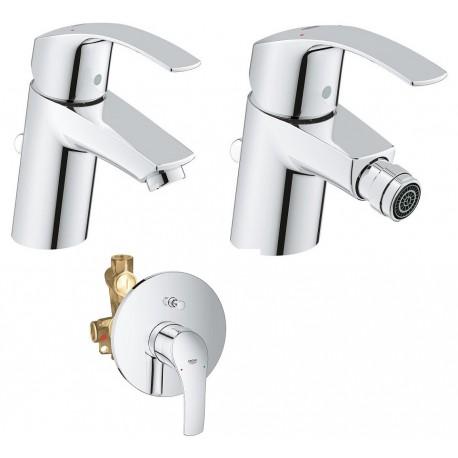Grohe miscelatori eurosmart new lavabo bidet doccia - Miscelatori grohe bagno ...