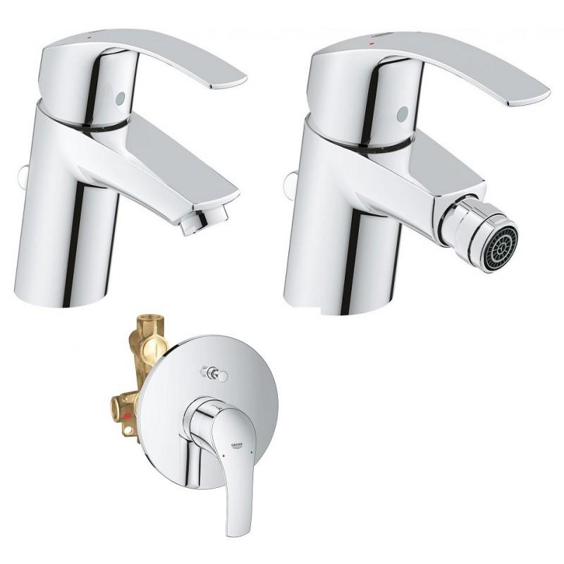 Grohe miscelatori eurosmart new lavabo bidet doccia for Lavabo grohe