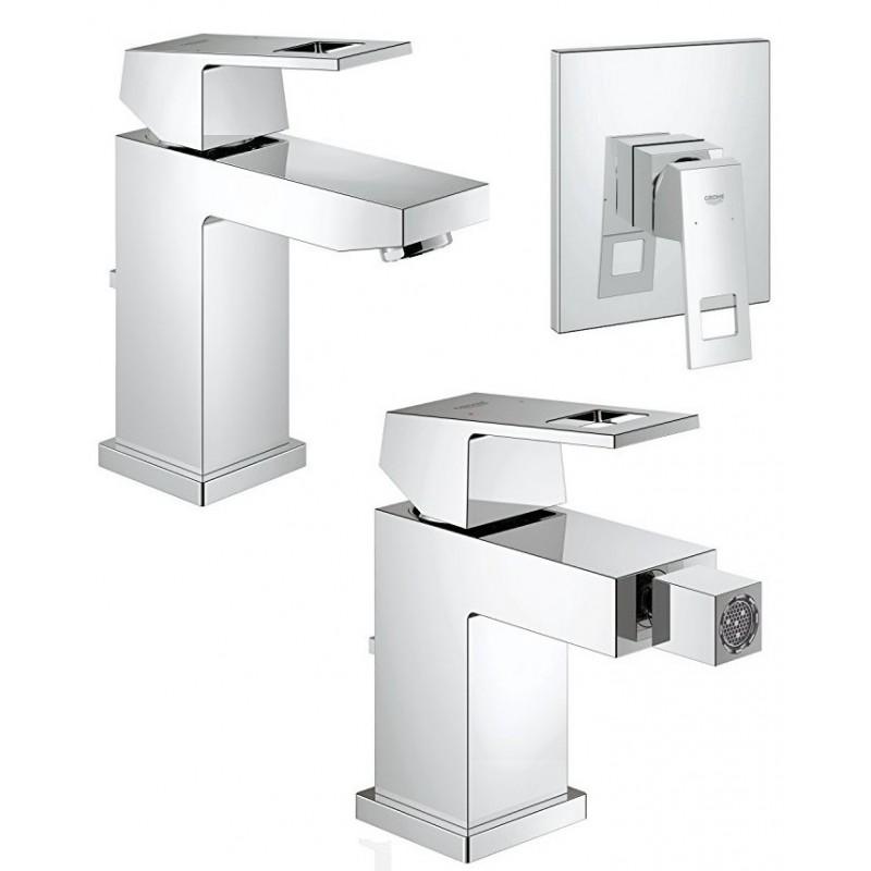 Grohe miscelatori eurocube lavabo bidet monocomando for Lavabo grohe