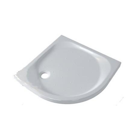 Piatto Doccia 80X80 cm Seventy Pozzi Ginori Bianco Lucido ad Angolo (Semicircolare) Spessore 70 mm