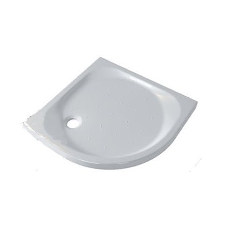 Piatto Doccia 90X90 cm Seventy Pozzi Ginori Bianco Lucido ad Angolo (Semicircolare) Spessore 70 mm