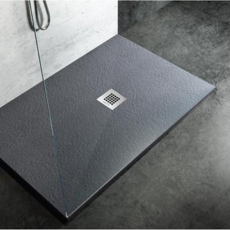 Piatto doccia in marmo resina ardesia su misura diversi - Box doccia resina ...