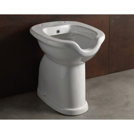 Costo Bidet Ceramica.Alice Ceramica Vaso Bidet C Erogatore Per Disabili Alto 49 Cm