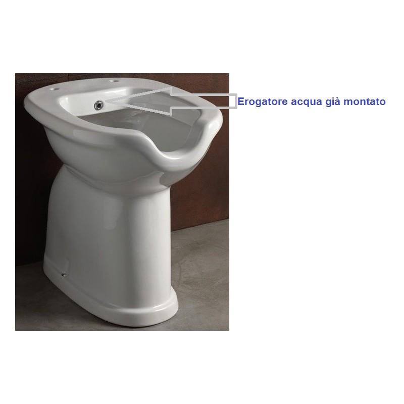 alice ceramica vaso bidet c erogatore per disabili alto