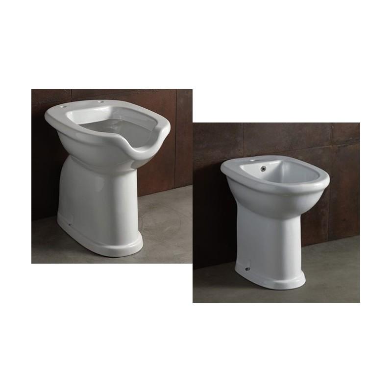 Doccetta Per Wc Disabili.Alice Ceramica Vaso E Bidet Per Disabili Serie Confort