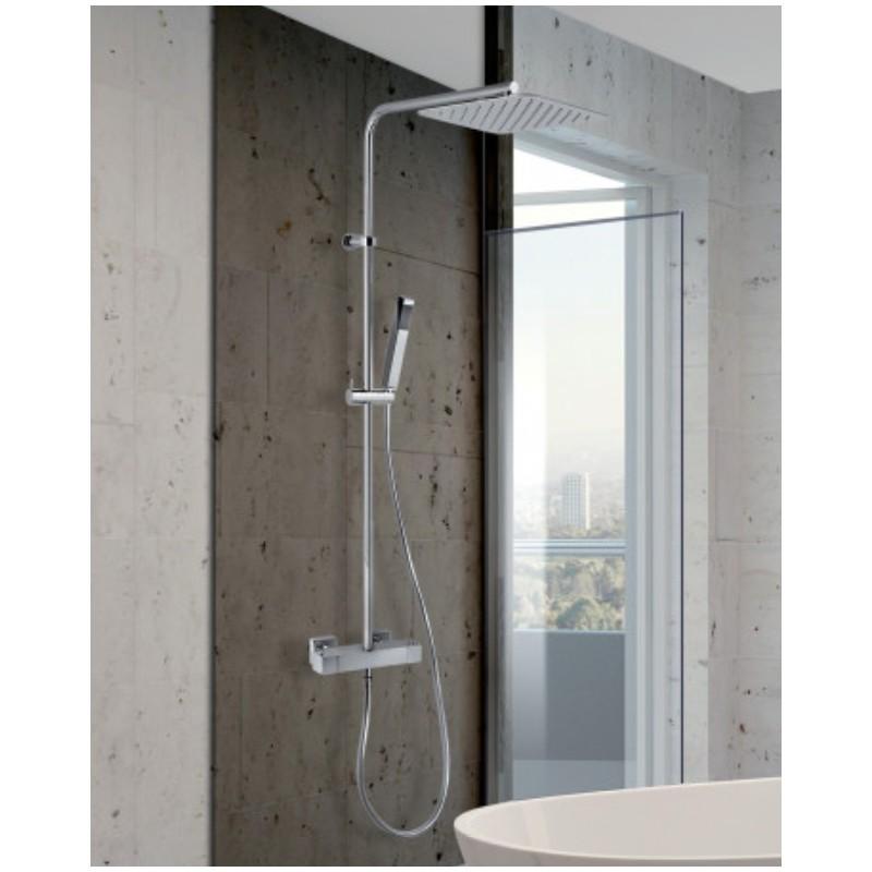 Jacuzzi glint 0iq00199ja00 colonna doccia miscelatore termostatico - Miscelatore bagno con doccetta ...