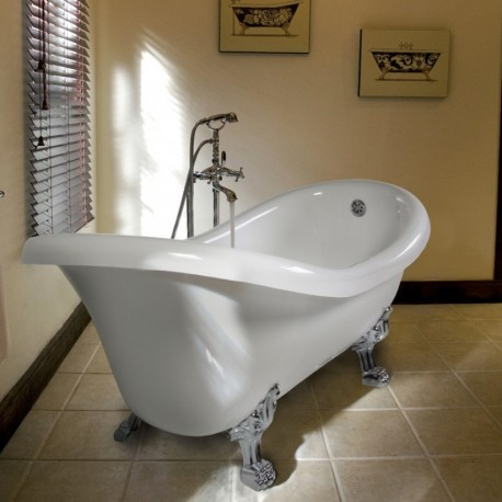 Ellade vasca da bagno centro stanza 170 x 80 cm - Vasca da bagno in inglese ...