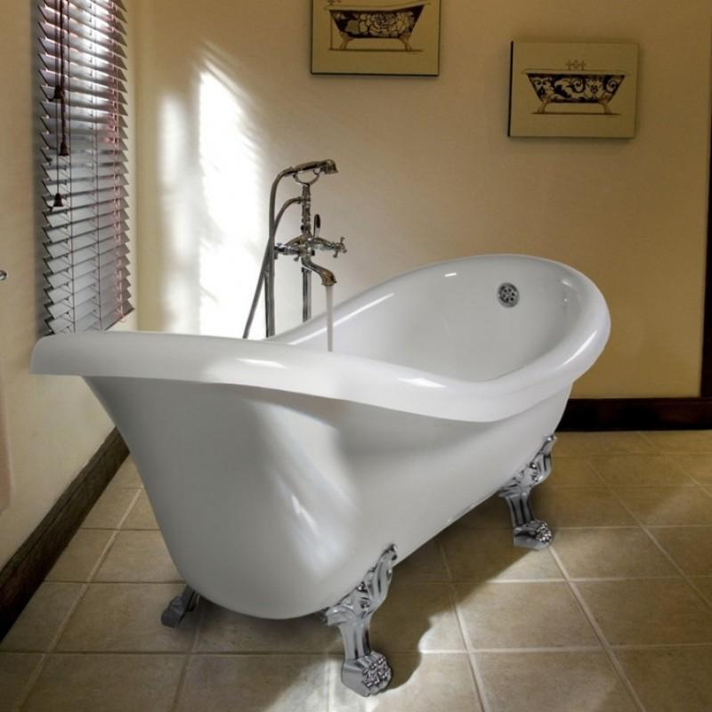 Ellade vasca da bagno centro stanza 170 x 80 cm for Vasca centro stanza