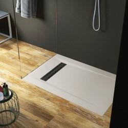 Su Misura H 3 cm Piatto Doccia in Solid Surface Classic Disponibile in 16 Colori