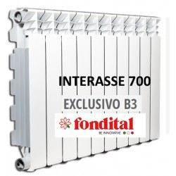 Radiatore in Alluminio Interasse 700 Fondital Exclusivo B3