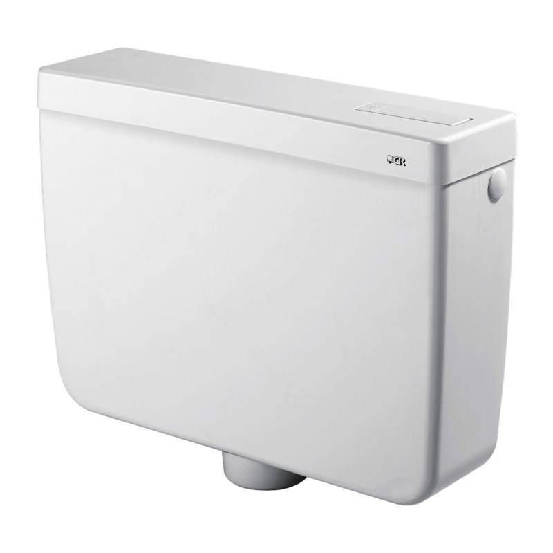 Cassetta a zaino export mono tasto con risparmio d acqua - Cassetta scarico wc esterna montaggio ...