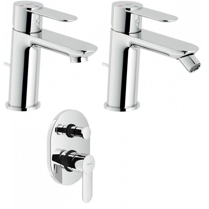 Nobili miscelatori lavabo bidet doccia con deviatore sand - Nobili accessori bagno ...