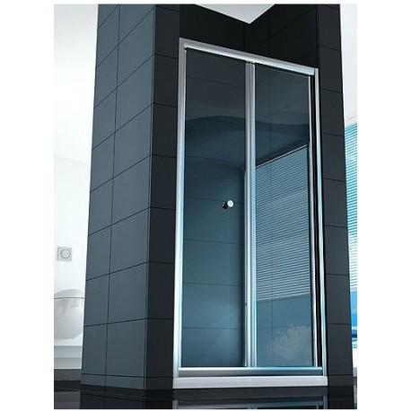 Box doccia apertura a soffietto libro cristallo 6 mm altezza 190 cm - Cabine doccia a soffietto ...