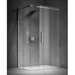 Box Doccia con Doppia Porta Scorrevole Treesse Still Cristallo 8 mm