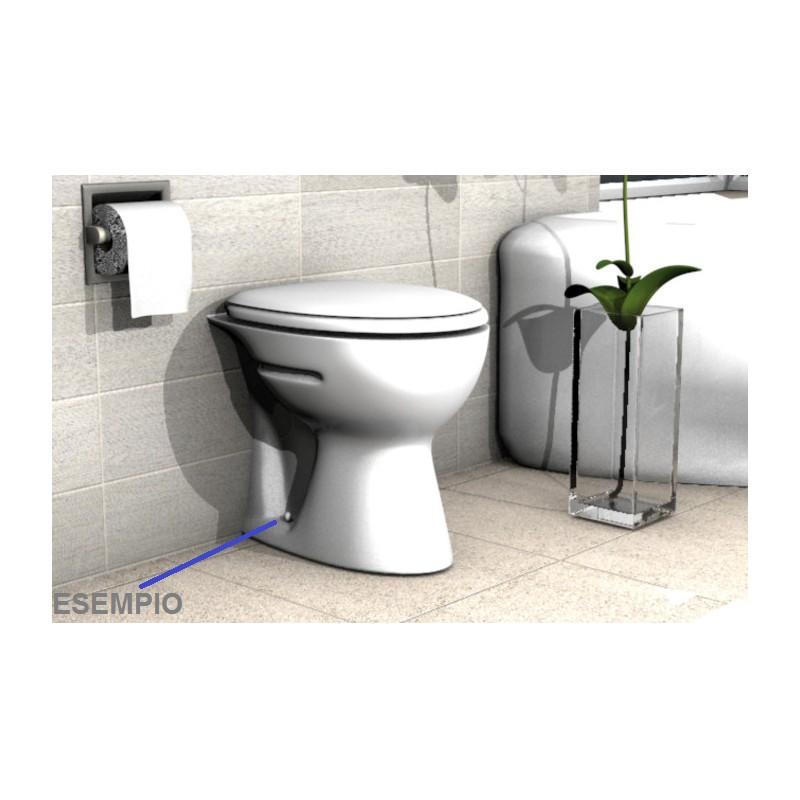 Fischer kit di fissaggio per sanitari a pavimento filomuro completo - Montaggio accessori bagno ...