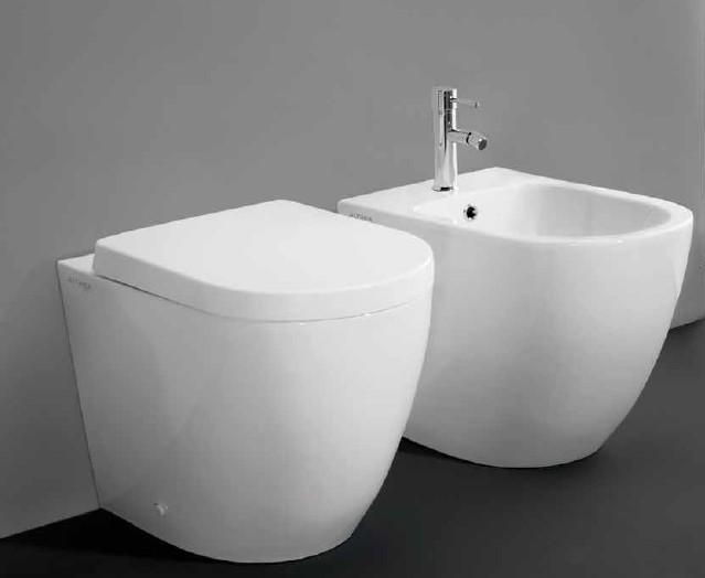Vasche Da Bagno Altezza 50 Cm : Althea vaso con scarico traslato bidet cover asami altezza cm