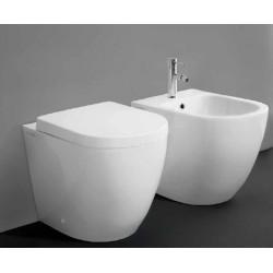 Sanitari Vaso + Bidet Althea Cover Asami con Tecnologia Total Flush