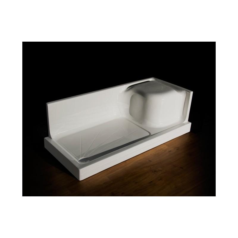 Trasformazione vasca in box doccia piatto doccia - Sostituzione vasca in doccia ...
