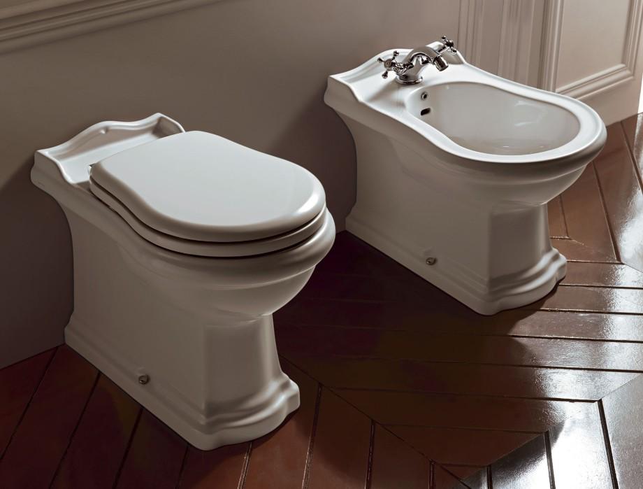 Vasca Da Bagno Kerasan : Sanitari bagno filo muro a terra vaso wc coprivaso bidet cento