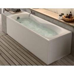 Vasca con Pannello Frontale + Laterale Misura 70 x 115 cm