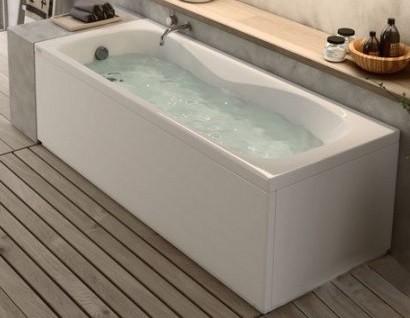 Vasca In Acrilico Pannello Frontale Laterale Fuori Misura 70x165 Cm