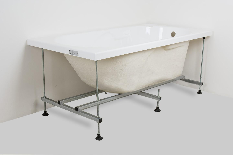 Vasca Da Bagno Con Telaio : Jacuzzi vasca guscio in acrilico con telaio altezza 57 cm 70x150 cm
