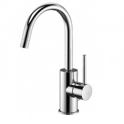 Miscelatore per Lavabo con Canna Orientabile Paffoni Light cod. LIG977CR