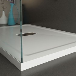 Piatto Doccia 70x120 cm in Acrilico Altezza 4 cm