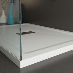 Piatto Doccia 80x140 cm in Acrilico Altezza 4 cm
