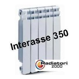 Termosifone in Alluminio Interasse 350 Radiatori 2000