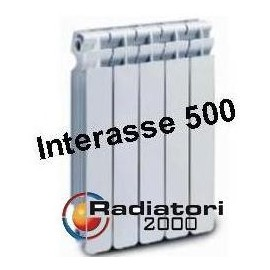 Termosifone in AlluminiomInterasse 500 Radiatori 2000