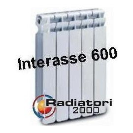 Termosifone in Alluminio Interasse 600 Radiatori 2000