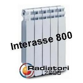 Termosifone in Alluminio Interasse 800 Radiatori 2000