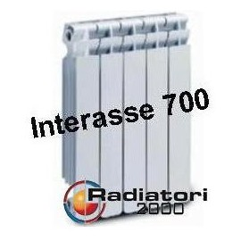 Termosifone in Alluminio Interasse 700 Radiatori 2000