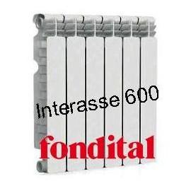 Radiatore in Alluminio Interasse 600 Fondital