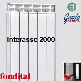 Radiatore in Alluminio Interasse 2000 Fondital