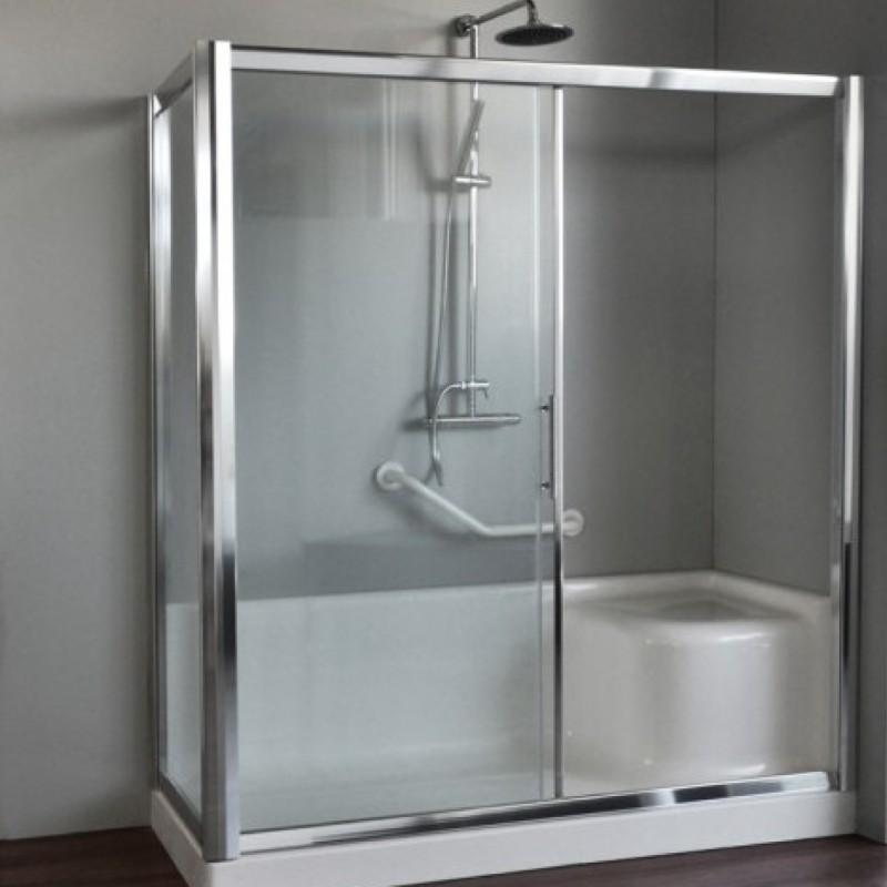 Box doccia per sostituzione vasca vendita online italiaboxdoccia - Cambio vasca da bagno ...